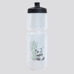 Panda Eating Bamboo Sports Bottle