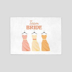 Team BRIDE 5'x7'Area Rug