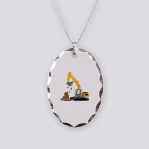 Excavator Necklace