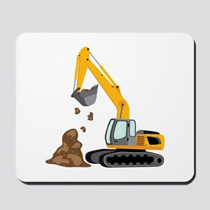 Excavator Mousepad