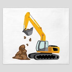 Excavator King Duvet
