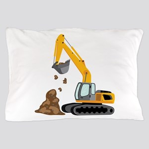 Excavator Pillow Case