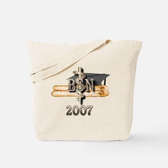 BSN Grad 2007 Tote Bag