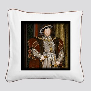 Henry VIII. Square Canvas Pillow