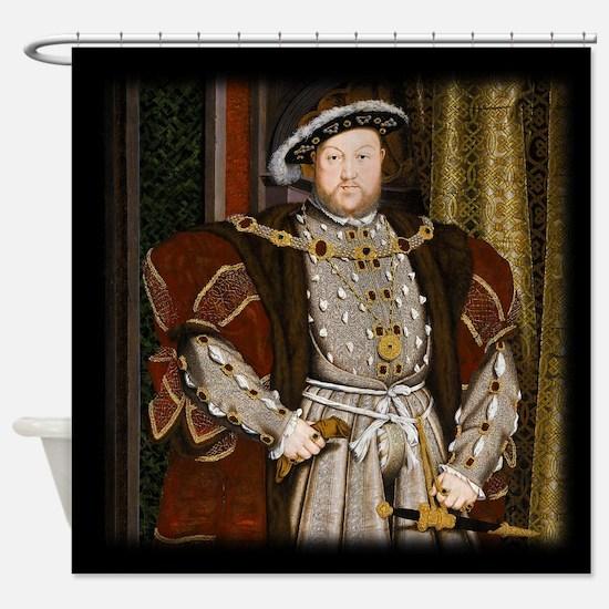 Henry VIII. Shower Curtain
