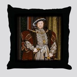 Henry VIII. Throw Pillow