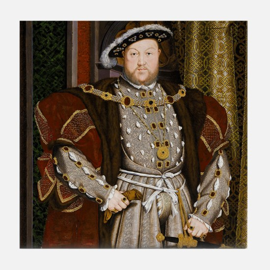Henry VIII. Tile Coaster