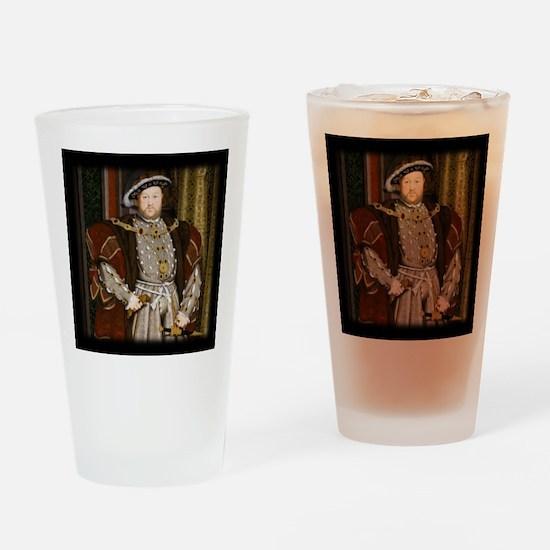 Henry VIII. Drinking Glass