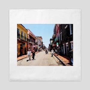 New Orleans Bourbon Queen Duvet
