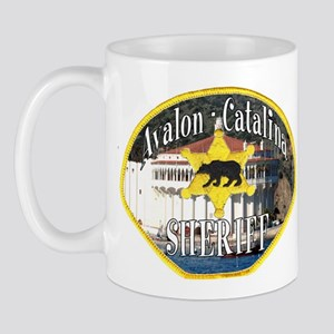 Avalon Catalina Sheriff Mug