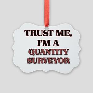 Trust Me, I'm a Quantity Surveyor Picture Ornament