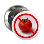 "Anti Tomato 2.25"" Badge / Button (10 pack)"