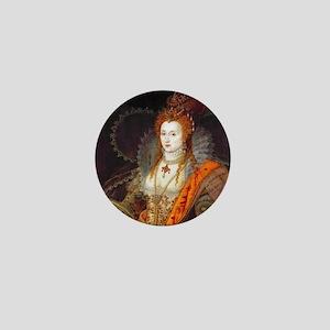 Queen Elizabeth I Mini Button