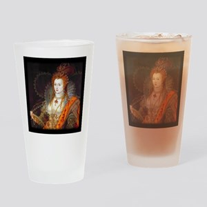 Queen Elizabeth I Drinking Glass