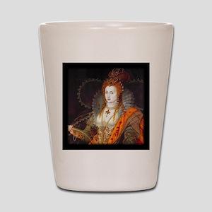 Queen Elizabeth I Shot Glass