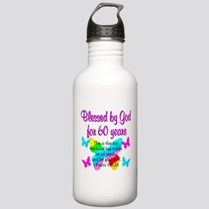 REJOICING 60TH Stainless Water Bottle 1.0L