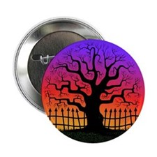Spooky Tree at Sunset Button