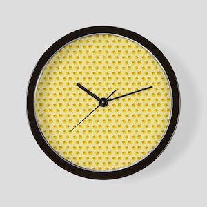 Halloween Candy Corn Wall Clock