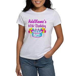 60th Birthday Womens T Shirts