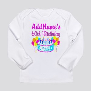 AWESOME 60TH Long Sleeve Infant T Shirt