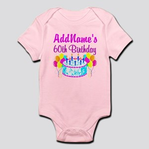 AWESOME 60TH Infant Bodysuit