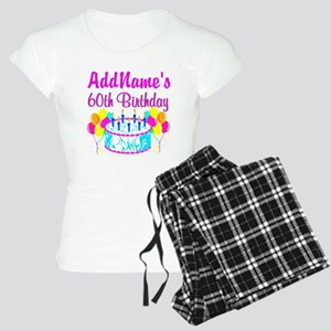 AWESOME 60TH Women's Light Pajamas