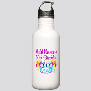 AWESOME 60TH Stainless Water Bottle 1.0L