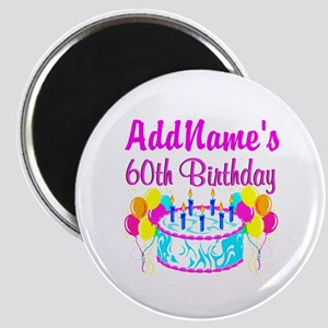 AWESOME 60TH Magnet