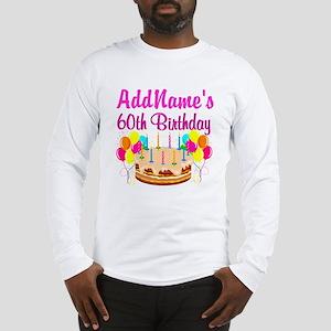 AMAZING 60TH Long Sleeve T-Shirt