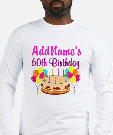 AMAZING 60TH Long Sleeve T-Shirt
