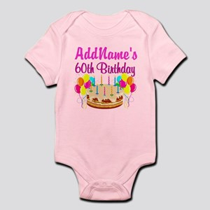AMAZING 60TH Infant Bodysuit