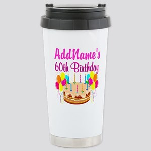 AMAZING 60TH Stainless Steel Travel Mug