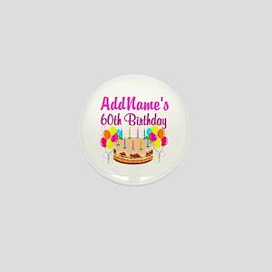 AMAZING 60TH Mini Button