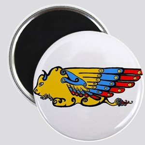 Winged Buffalo Magnet