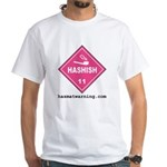 Hashish White T-Shirt