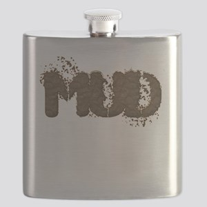 Mud Is The New Black Flask