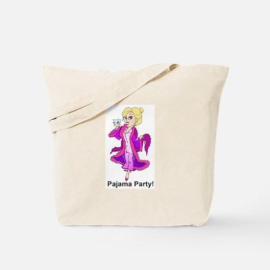 Pajama Party Gal Tote Bag