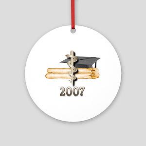 Medical Grad 2007 Ornament (Round)