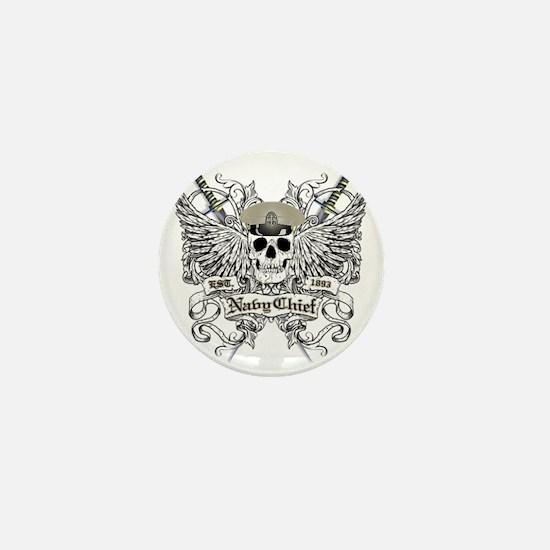 Chief wingskull Mini Button