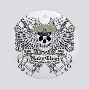 Chief wingskull Round Ornament
