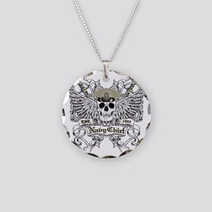 Chief wingskull Necklace Circle Charm
