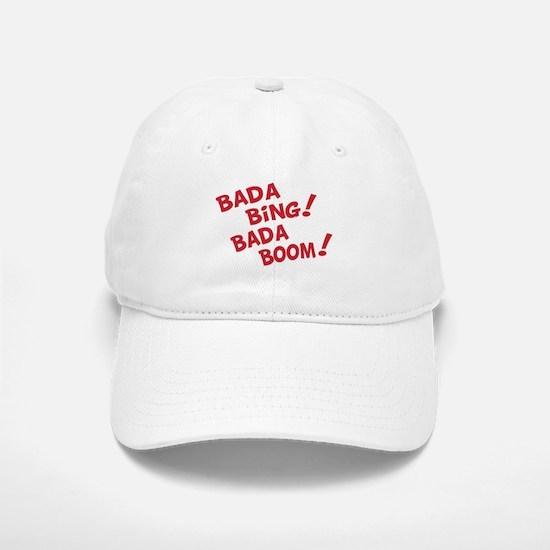 Bada Boom Baseball Baseball Cap
