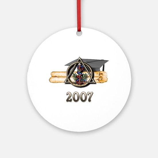 Dental Grad 2007 Ornament (Round)