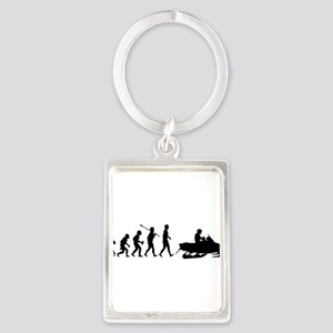 Snowmobile2 Keychains