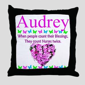 THANK YOU NURSES Throw Pillow