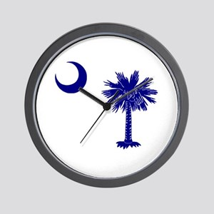 Palmetto and Crescent Wall Clock