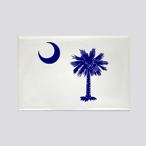 Palmetto and Crescent Rectangle Magnet