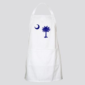 Palmetto and Crescent BBQ Apron
