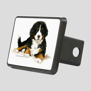 Bernese Mountain Dog Brigh Rectangular Hitch Cover