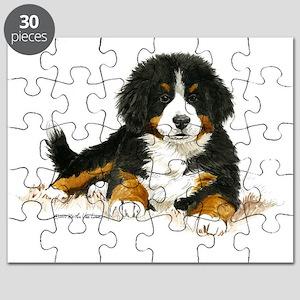 Bernese Mountain Dog Bright Eyes Puzzle